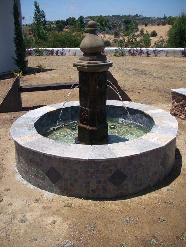 San Diego Fountain Build